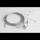 Kit de suspension câbles acier